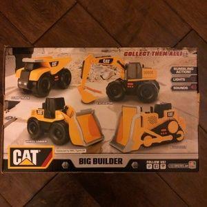 CAT Big Builder - Set of 4 Construction Vehicles